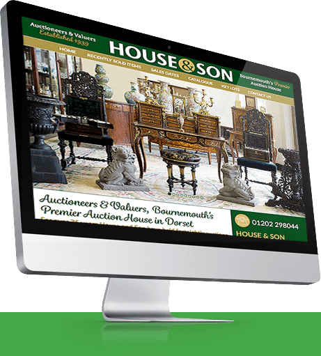 Auctioneers Website Design