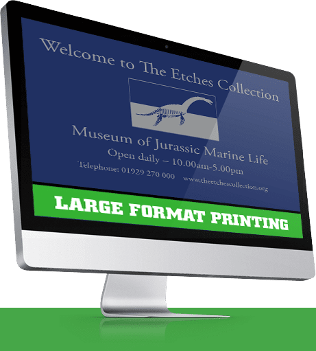 Designosaur Large Format Printing Imac Banner