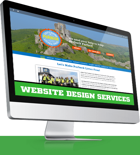 Designosaur Website Design Imac Banner