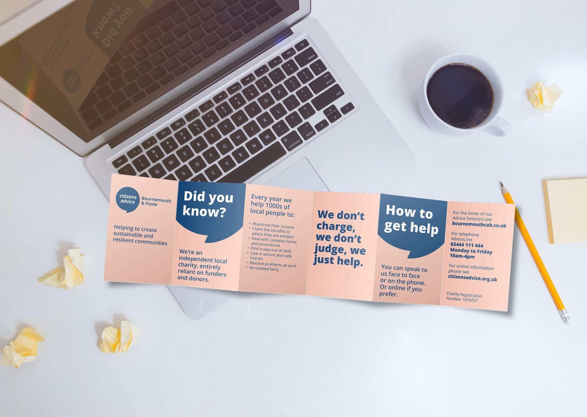 6pp Concertina Fold Leaflet Design And Print