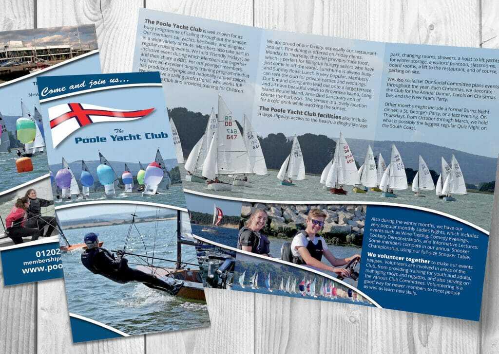 6pp Dl Folded Leaflet Design And Print
