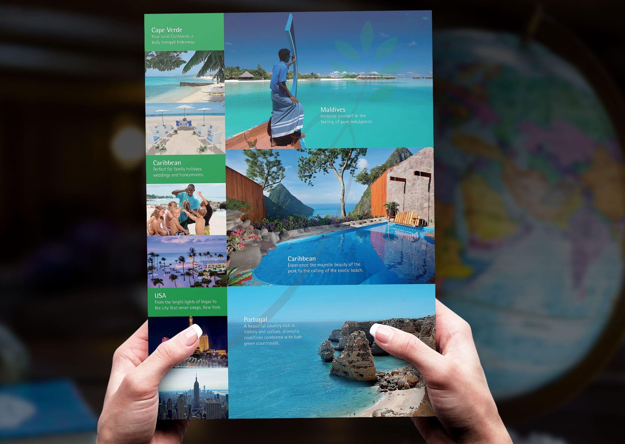 6pp Dl Landscape Folded Leaflet Design And Print