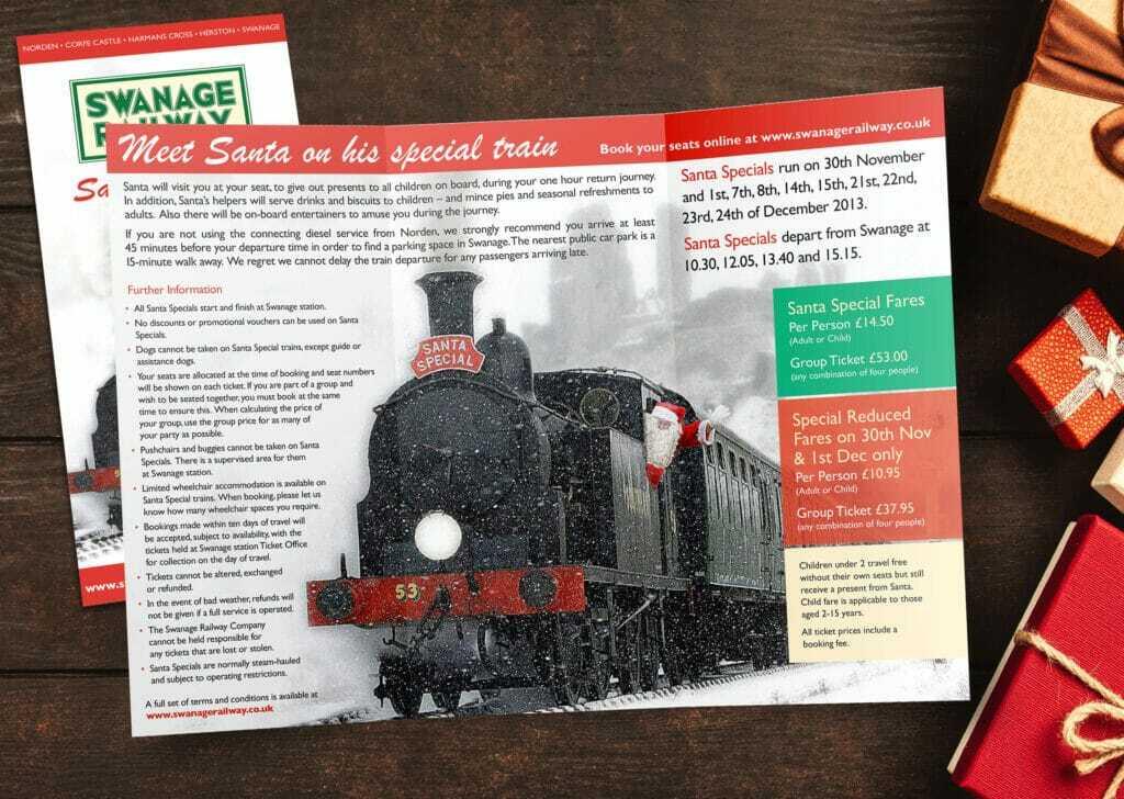 6pp Dl Portrait Folded Leaflet Design And Print