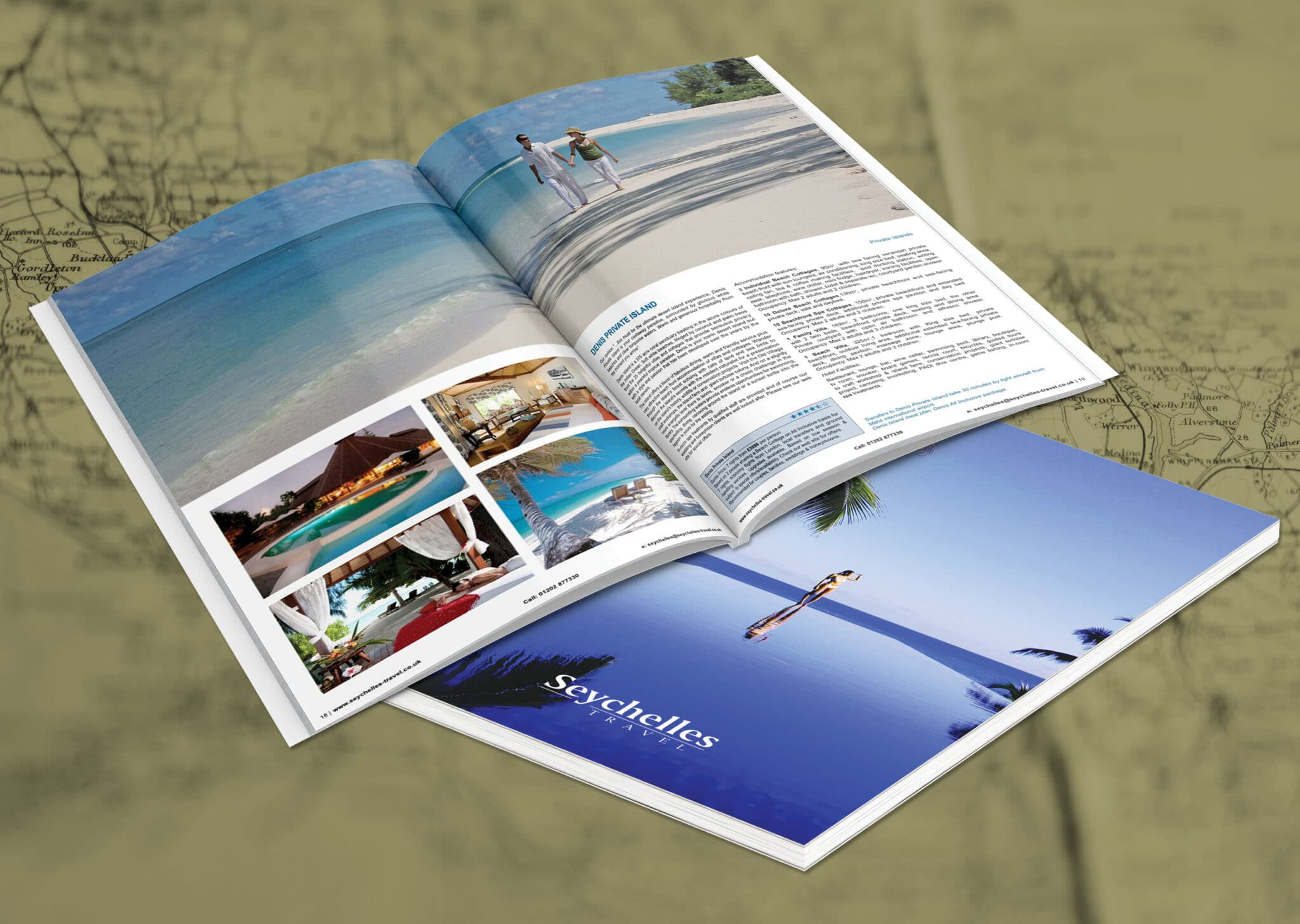 A4 Portrait Holiday Brochure Design And Print 2560x1820px