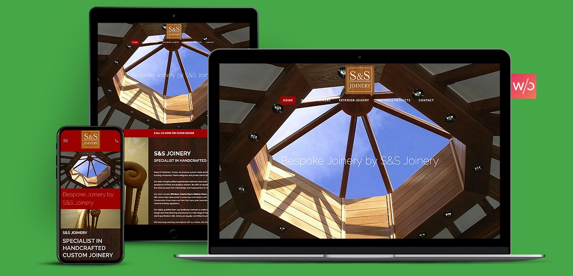 Bespoke Joinery Without Code Website Design