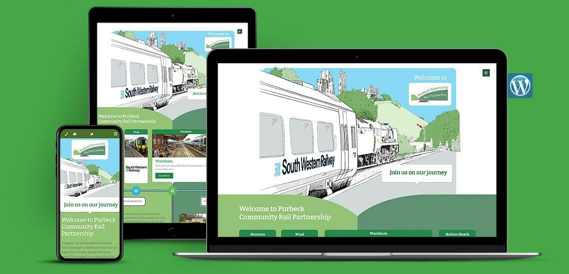 Community Rail Partnership WordPress Website Design
