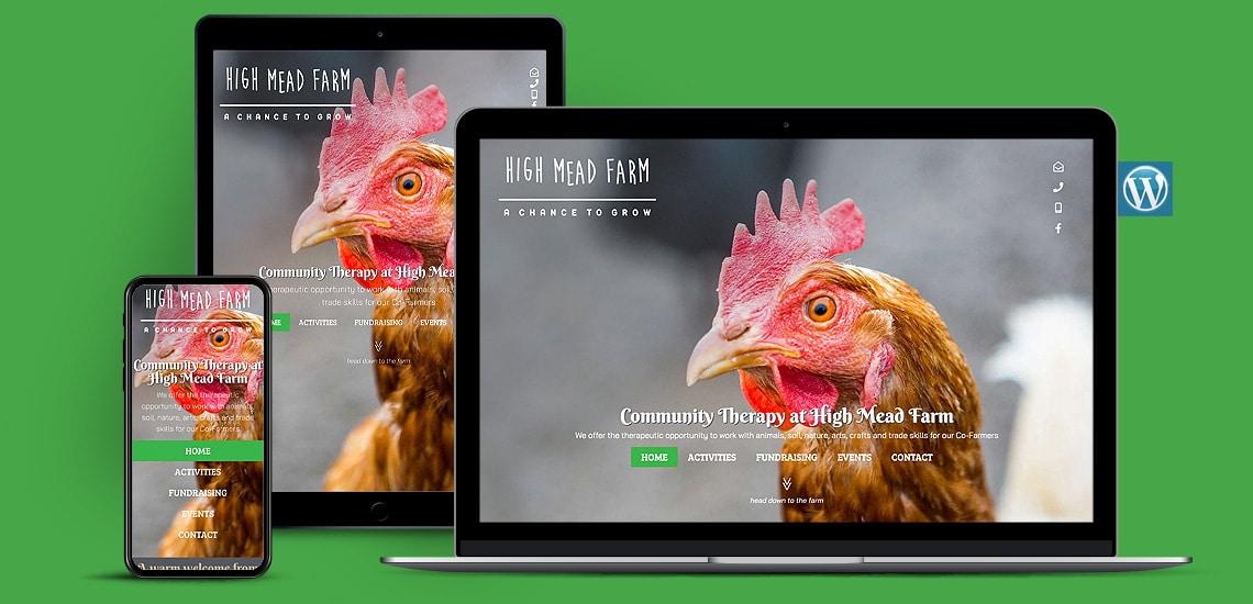 Community Therapy WordPress Website Design