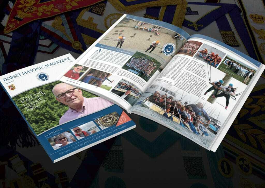 Dorset Masonic Magazine Design & Print