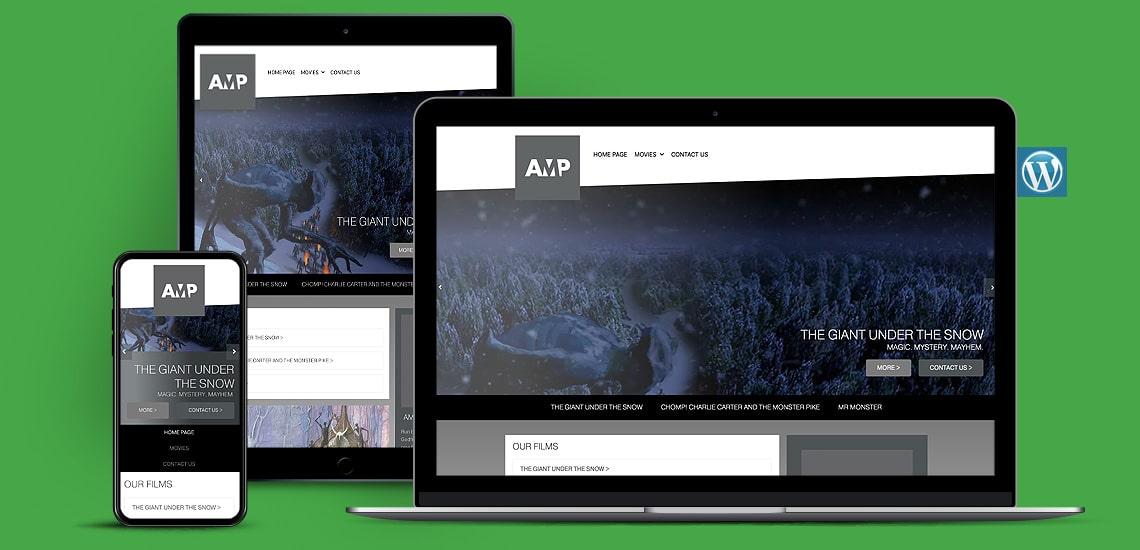 Film Producers WordPress Website Design