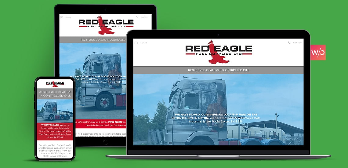 Fuel Suppliers Without Code Website Design