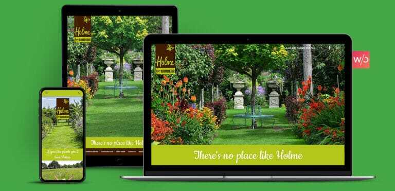 Garden Centre Without Code Website Design
