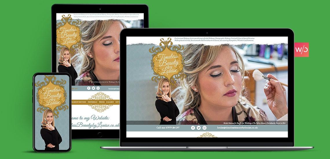 Make Up Artisits Without Code Website Design