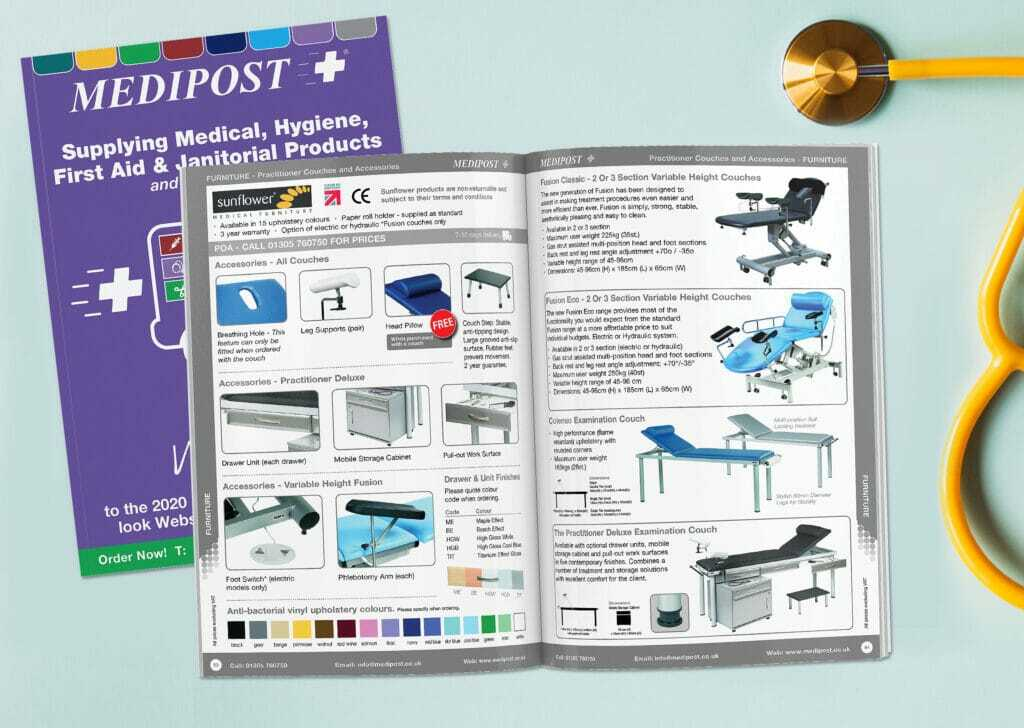 Medical Catalogue Design And Print