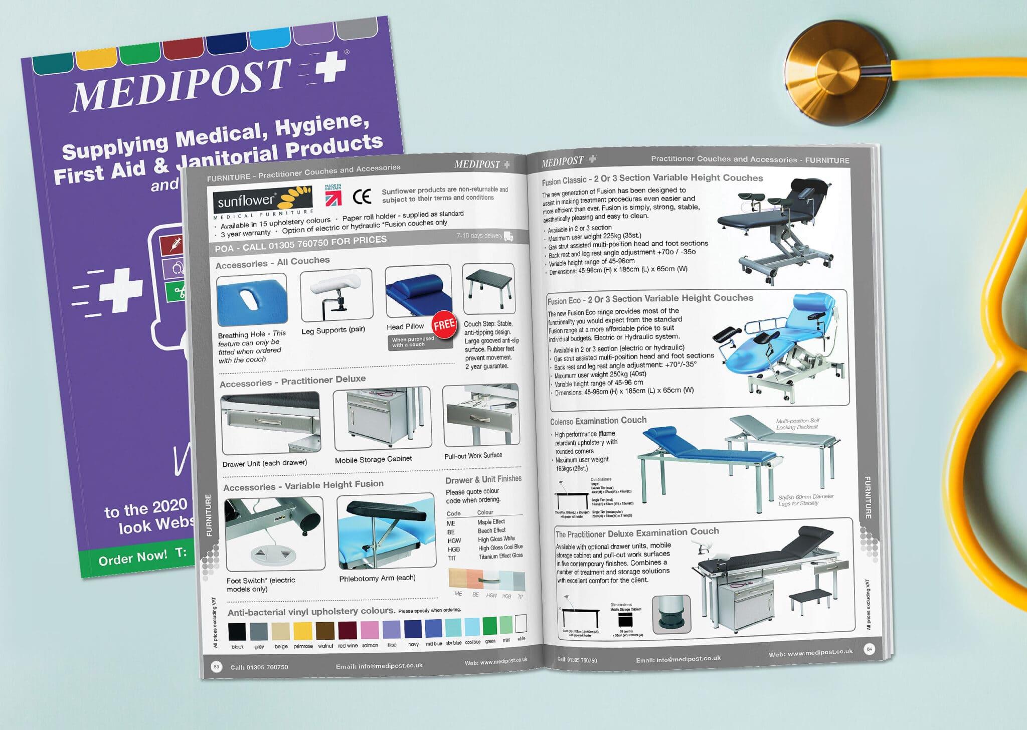 Medical Catalogue Design And Print