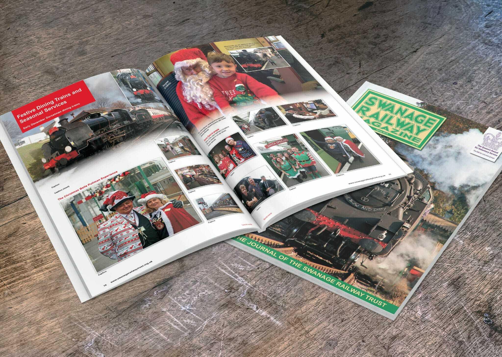 Swanage Railway Magazine Design & Print