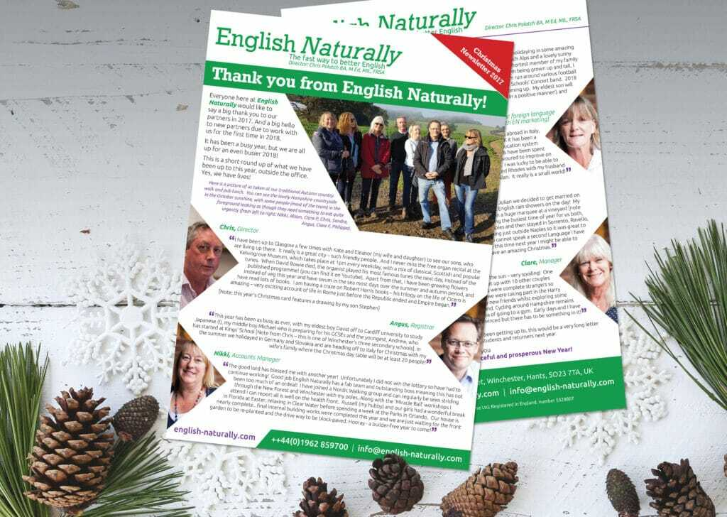 2pp A4 Newsletter Design And Print