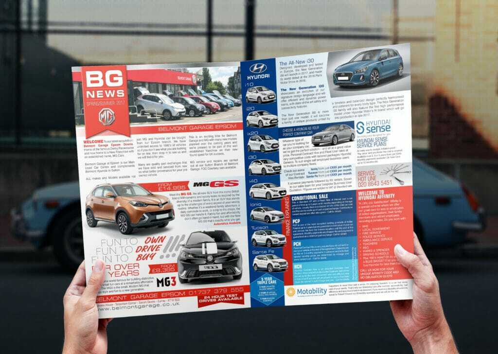 A4 Company Newsletter Design And Print