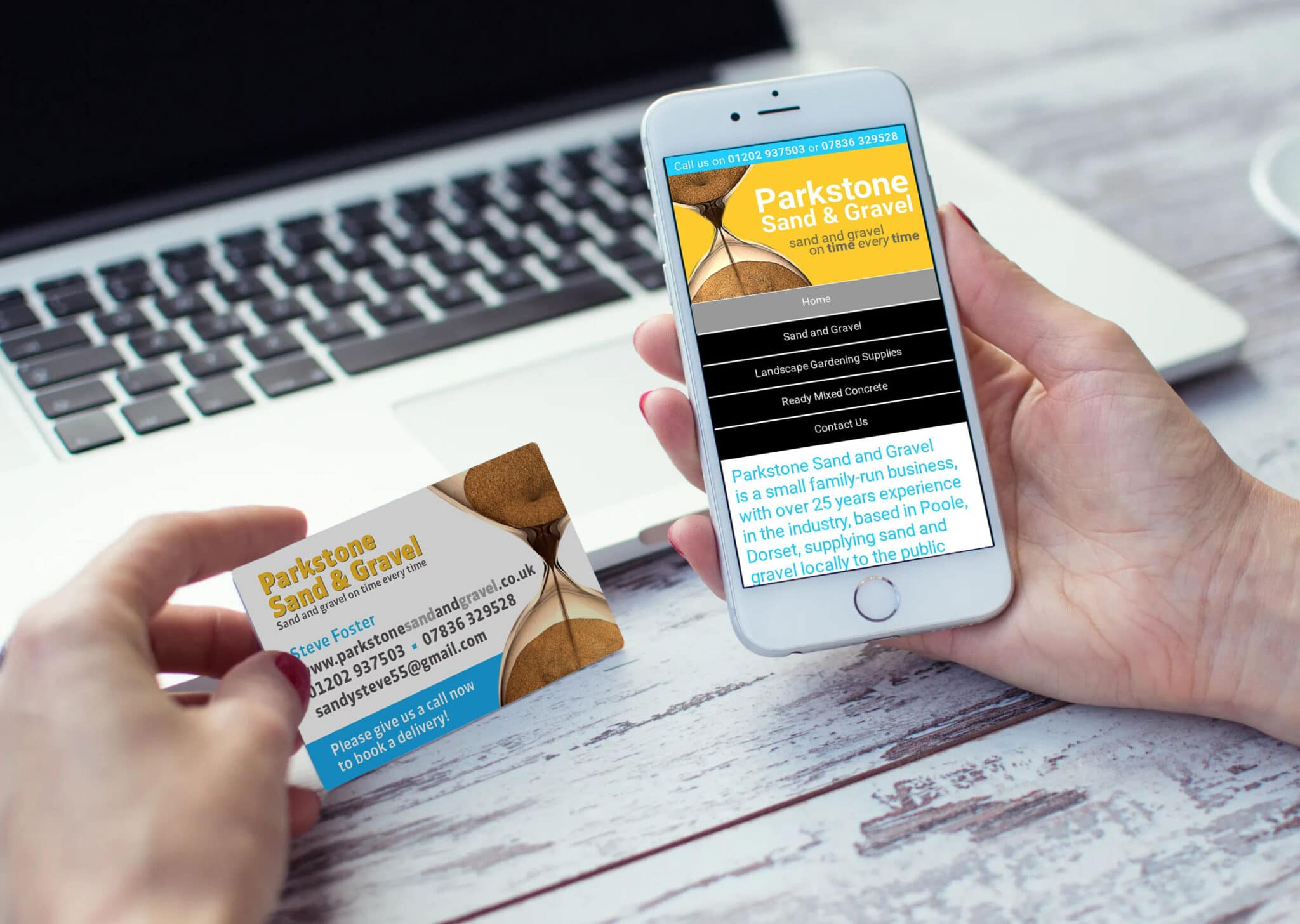 Business Card Design And Print And Web Design