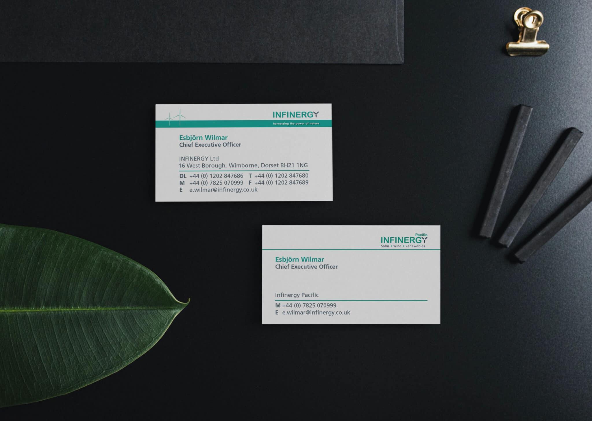 Dual Purpose Business Card Design And Print