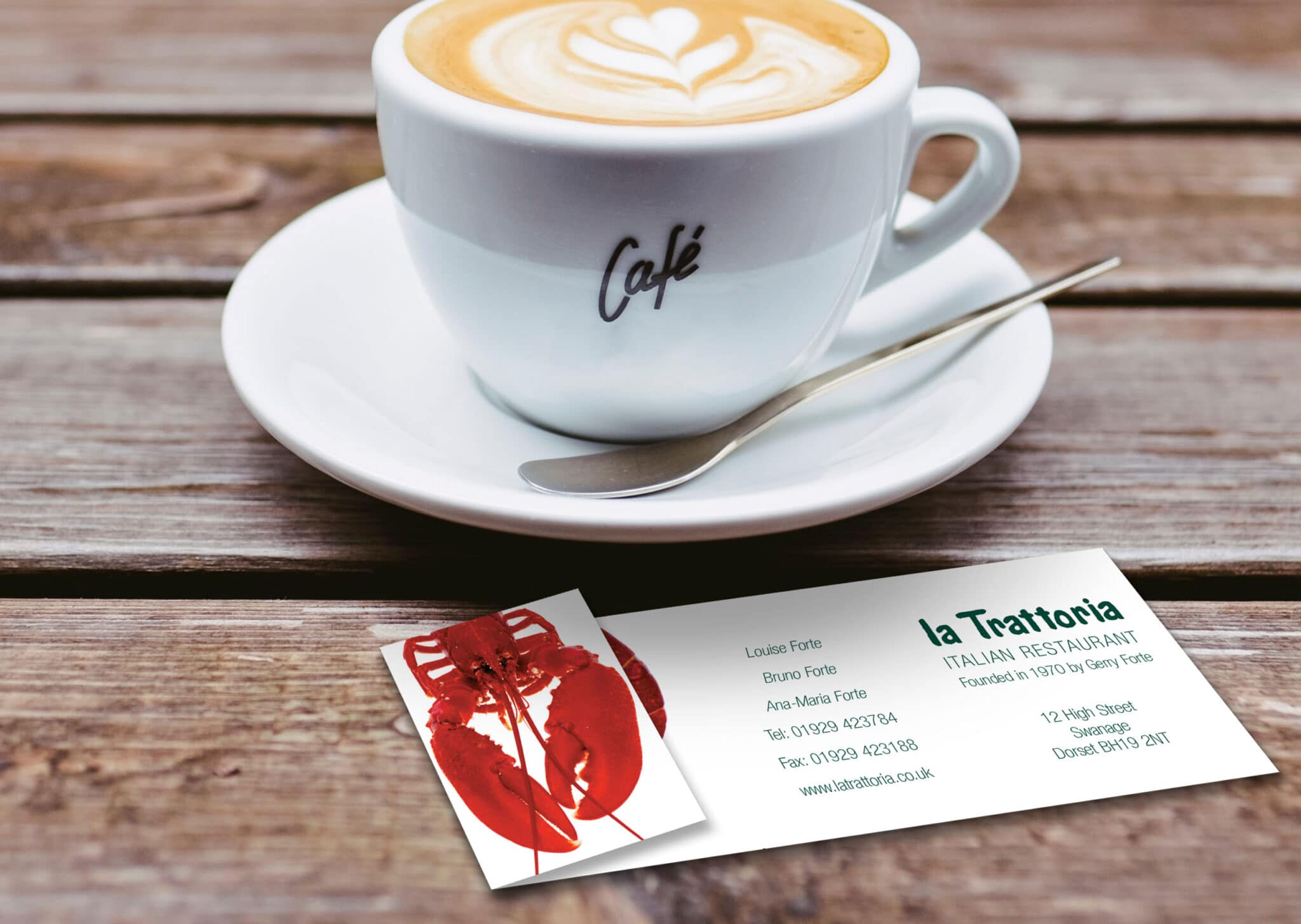 Folded Business Card Design And Print