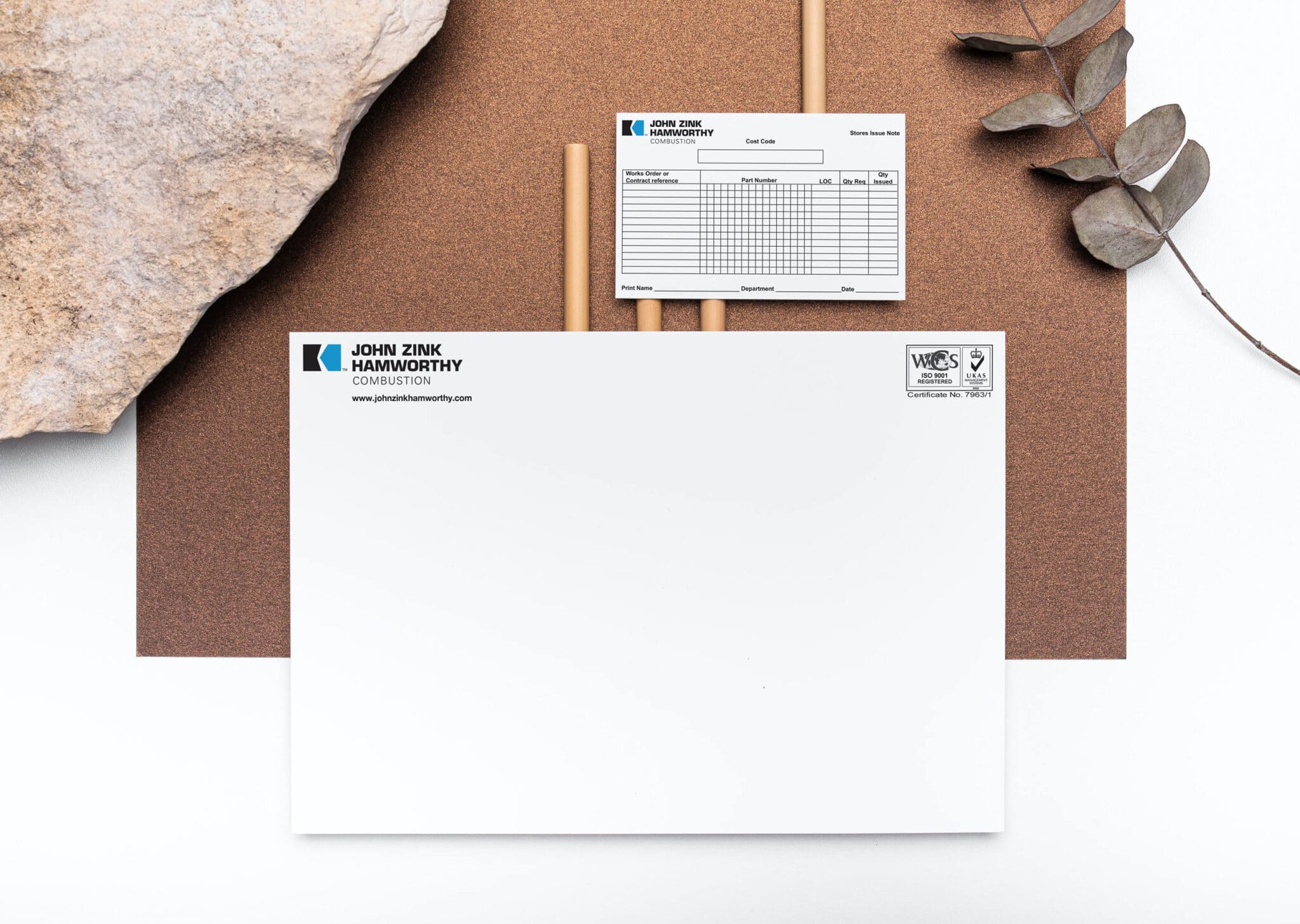Issue Notes And Landscape Letterhead Printing
