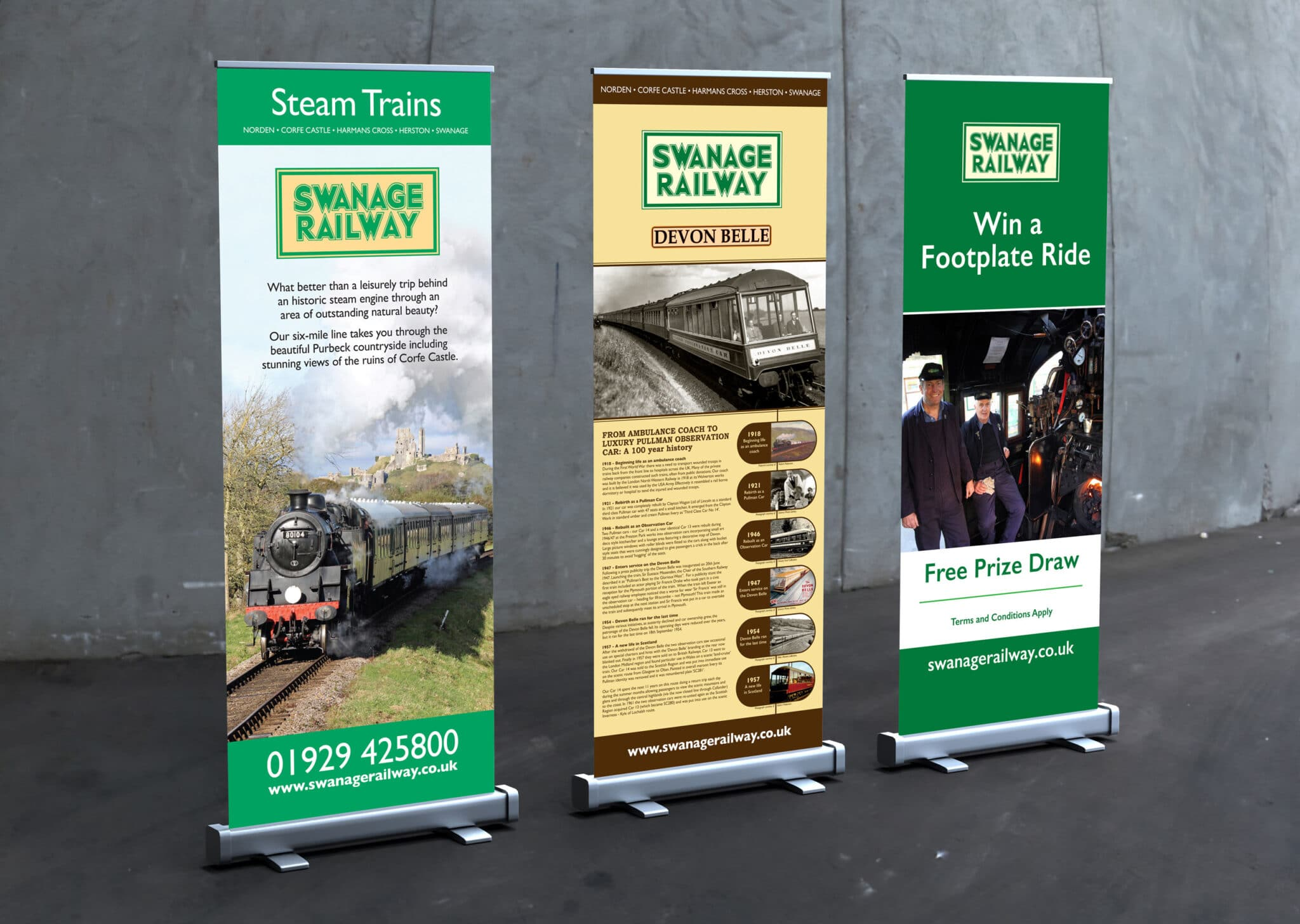 Premium 800mm Roll Up Banner Design And Printing
