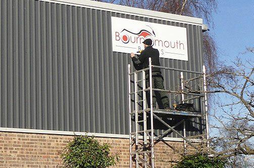 Corporate Signage Installation