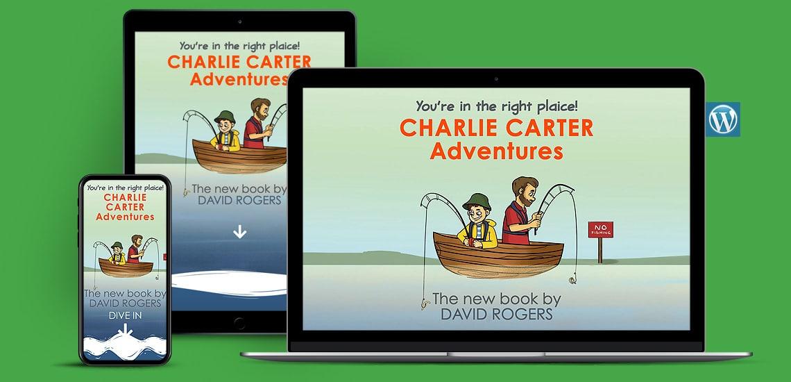 Designosaur Website Design Portfolio Charlie Carter And The Monster Pike