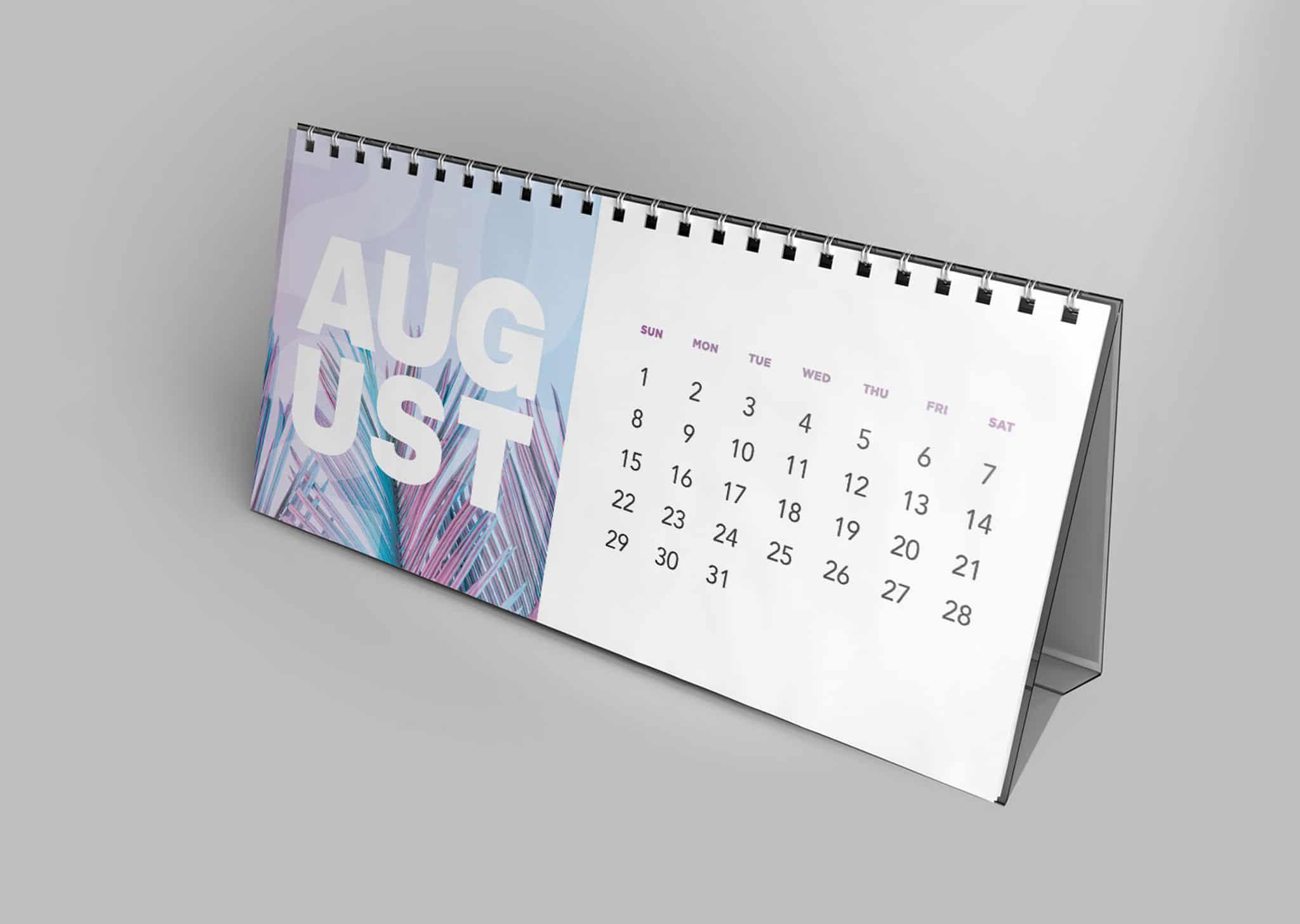 A Z Design And Print Services Desk Calendar Printing