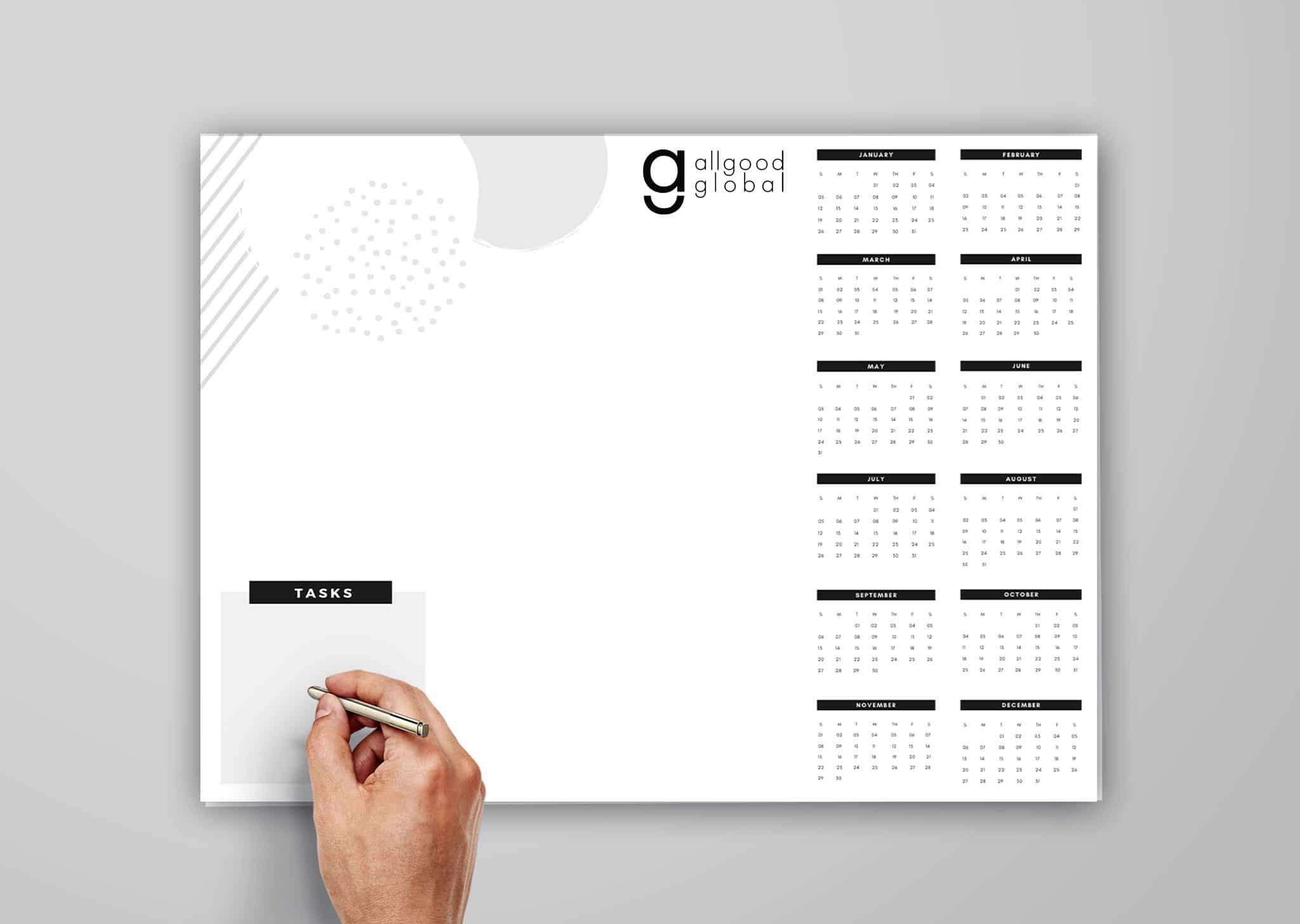 A Z Design And Print Services Desk Pad Printer