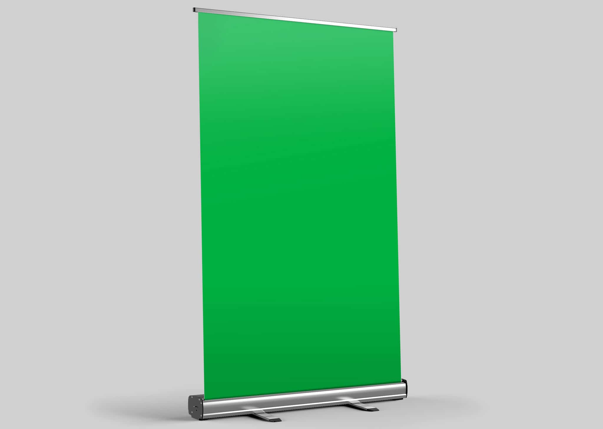A Z Design And Print Services Green Screen Roller Banners