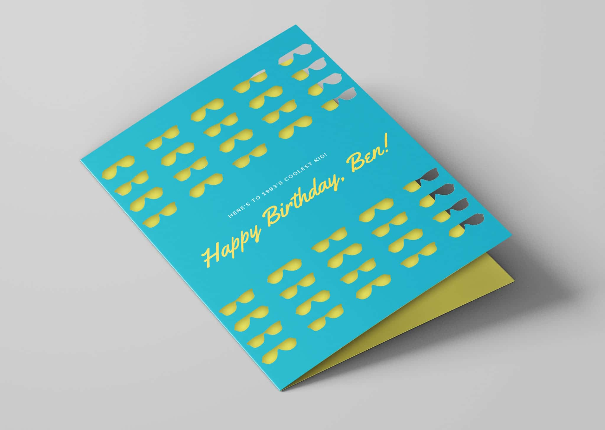 A Z Design And Print Services Laser Cut Greetings Cards