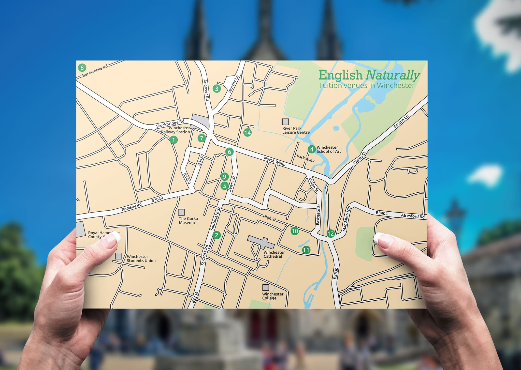 A Z Design And Print Services Map Design
