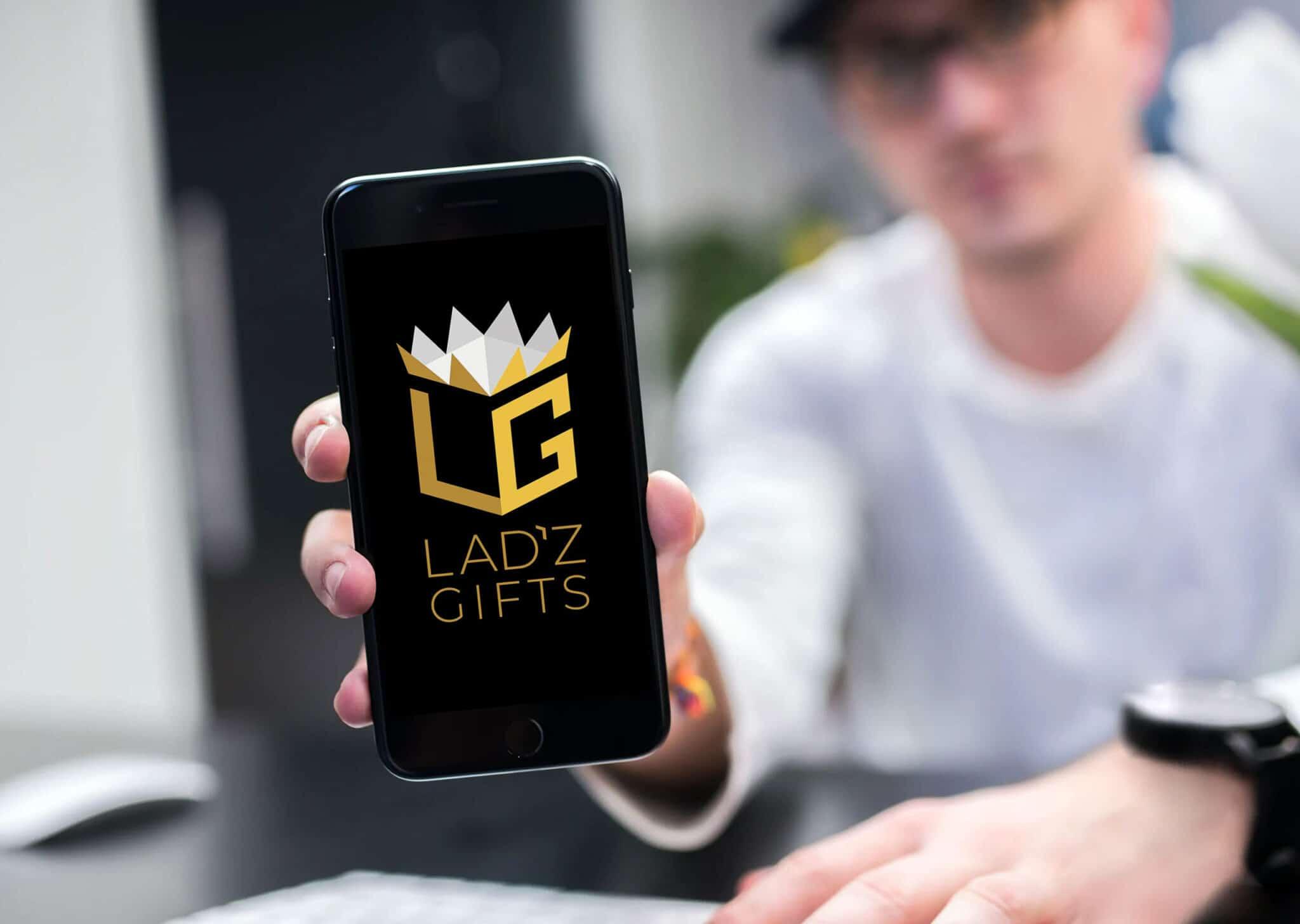 Corporate Branding Ladz Gifts Logo Design