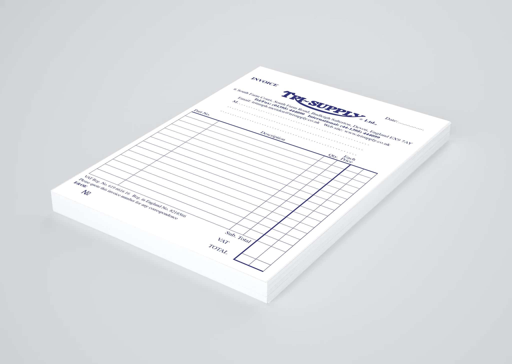 NCR Pad Design & Print Testimonials