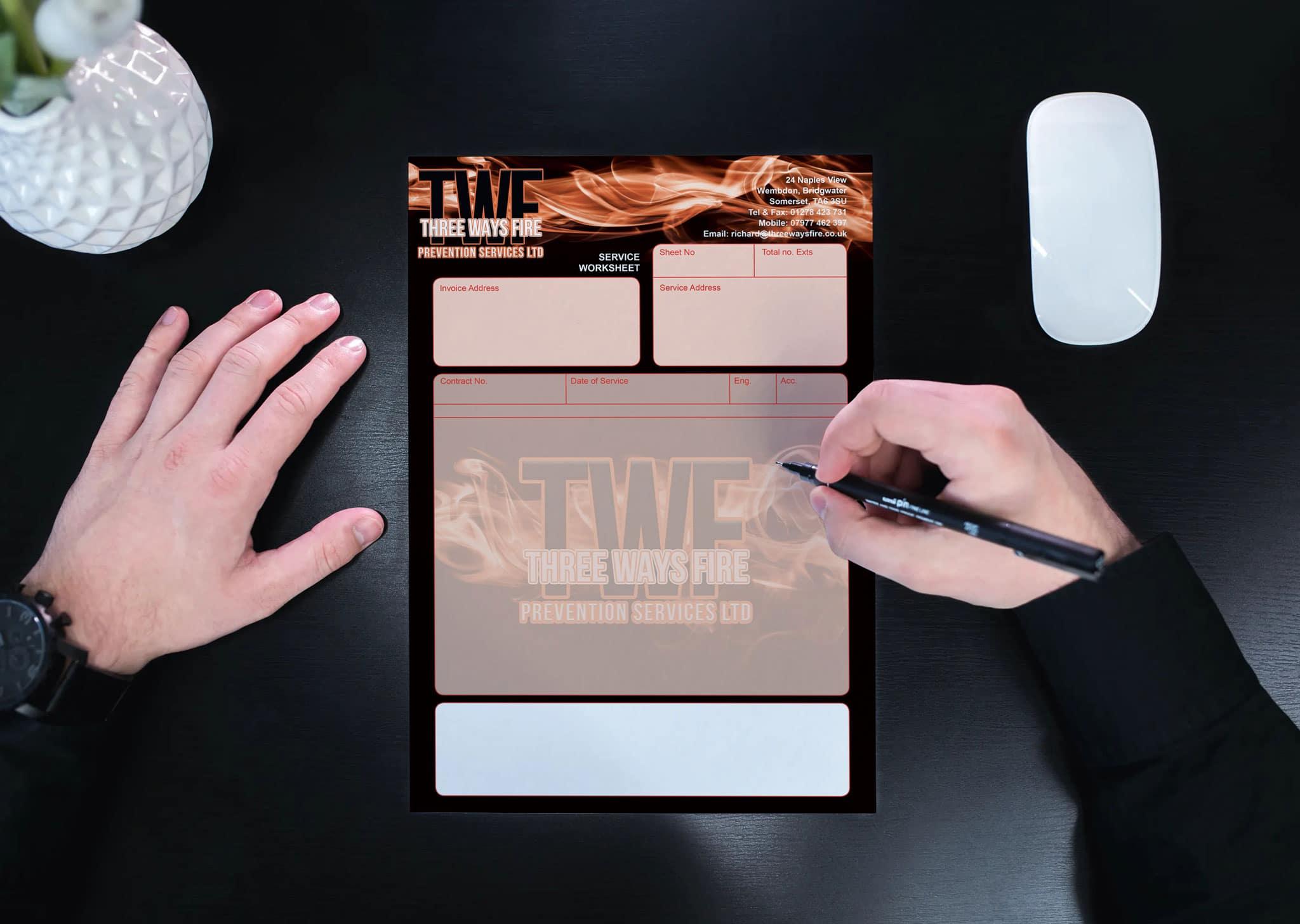 NCR Pads Design & Print